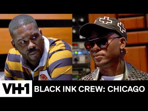 Phor & London on da Track Clash in the Studio 'Sneak Peek'   Black Ink Crew: Chicago