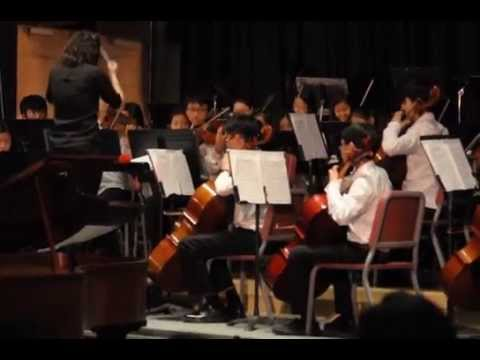 "Music from ""Frozen"", performed by Tenakill Middle School Orchestra, Closter, NJ"
