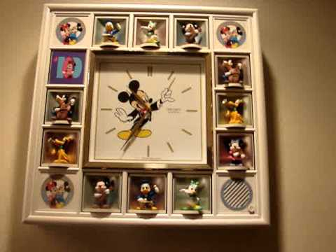 Disney Character Clock Amazing Youtube