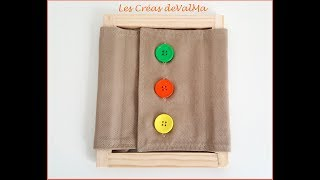 Cadre d'habillage Gros Boutons - Inspiration Méthode Montessori