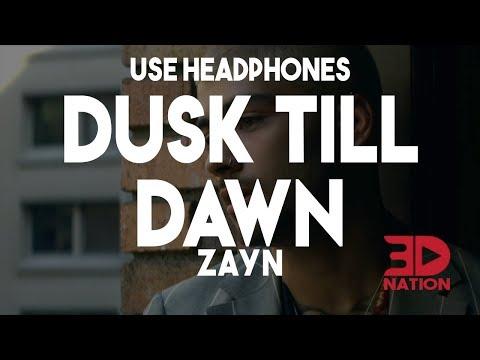 ZAYN - Dusk Till Dawn 🎧 ft. Sia (3D & Bass Boosted Audio)