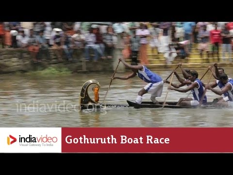 You will be left breathless just looking at the spirited rowing at the Gothuruth Boat Race