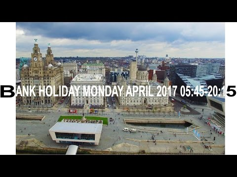 River Mersey Liverpool Water Front by DJI Phantom 3 Pro & GoPro 4K
