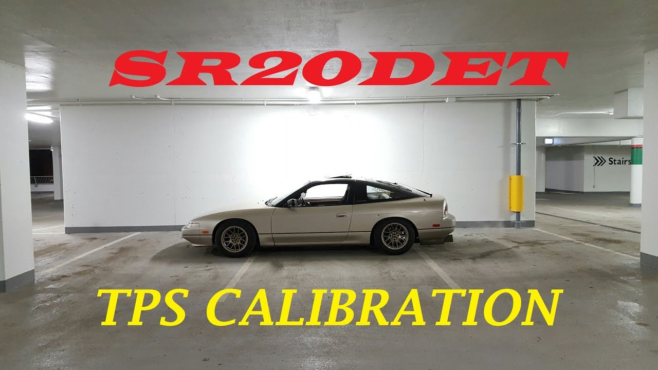 SR20DET Throttle Position Sensor Calibration