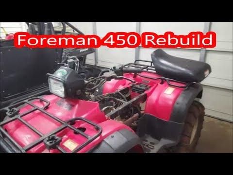 1998 honda 450 foreman parts