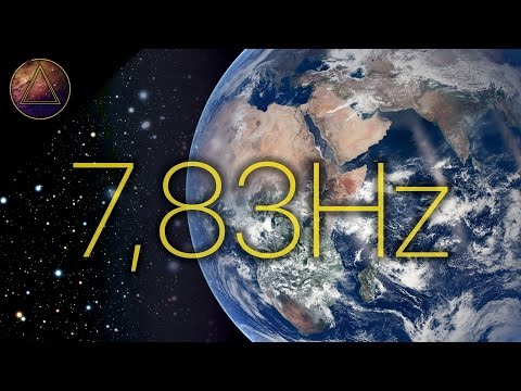 SCHUMANN RESONANCE - 7,83 Hz Earth Vibrational Frequency [Monaural Beats & Isochronic Tones]