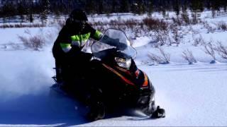 Снегоход Тайга Патруль 550 SWT. Покатушки 2016. Лучшие моменты