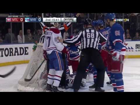 Montreal Canadiens vs New York Rangers - April 16, 2017 | Game Highlights | NHL 2016/17