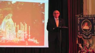 Pregón Semana Santa 2015 [Colegio Gamarra] - Fco. Javier Jurado, 'Coco''