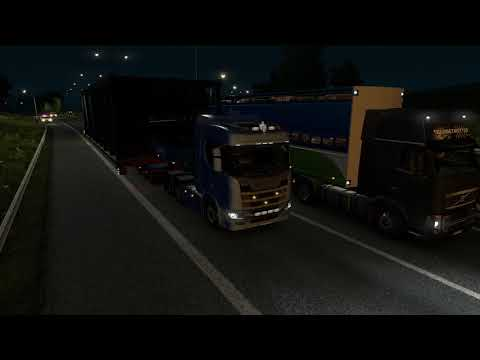ETS2: Special Transport DLC - Construction Staircase Kosice to Budapest