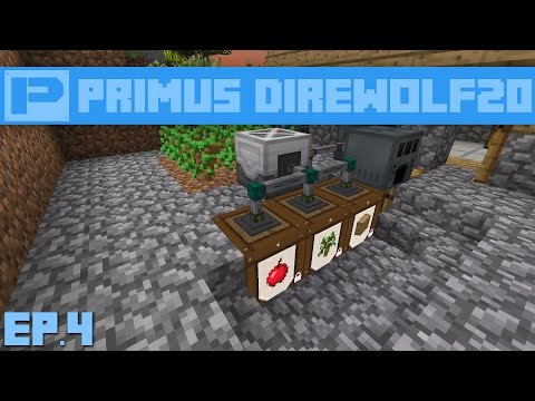 Primus : Direwolf20 1.7 : Ep.4 - Simple Infinite Power Setup