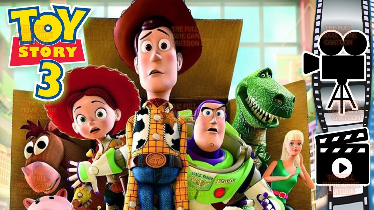 TOY STORY 3 ENGLISH FULL MOVIE GAME Disney Pixar Studios Woody Jessie Buzz Lightyear
