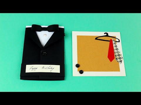 Как сделать рубашку из бумаги своими руками на день рождения фото 581