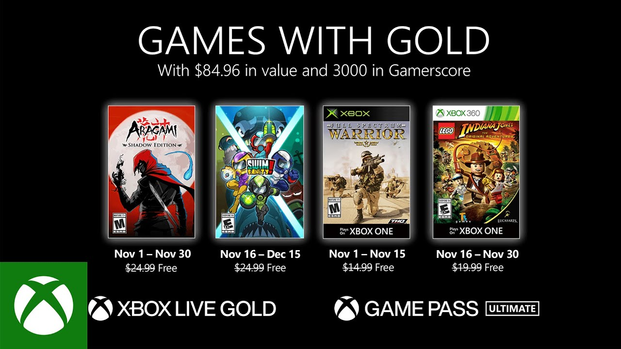 Xbox Games With Gold These Are The Free Xbox One Games This Month Techradar