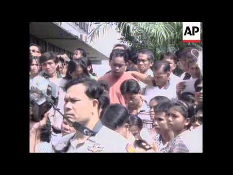 THAILAND: BANGKOK: ROYAL PARDON GIVEN TO THOUSANDS OF PRISONERS
