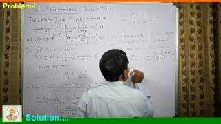 Infinite Series(Part-VI) Raabe's Test of convergence in Hindi
