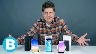 De drie beste smartphones van dit moment (boven 600 euro)