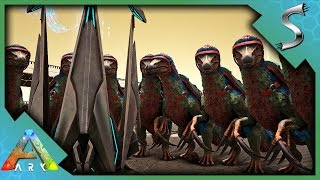 MUTATED THERIZINO ARMY VS ALL ALPHA BOSSES! - Ark: Survival Evolved [S4E130]