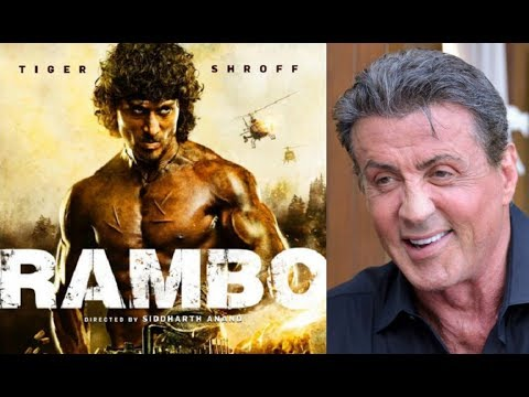 Sylvester Stallone SHOCKING Reaction On Tiger Shroff's RAMBO First Look!