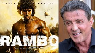 Baixar Sylvester Stallone SHOCKING Reaction On Tiger Shroff's RAMBO First Look!
