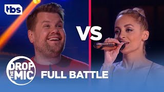 Drop the Mic: James Corden vs Nicole Richie | Full Battle