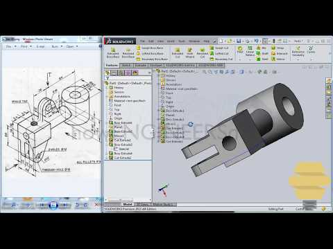 SolidWorks Beginners-Exercise 30-Practice session - 동영상