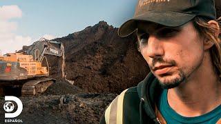 Terreno colapsa y pone en riesgo al equipo de Parker | Fiebre del Oro | Discovery En Español