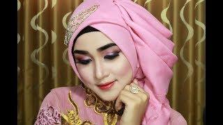 Hijab Graduation Simple, Beautiful, Graceful, Luxurious And Elegant By Using Hijab Rectangular Four
