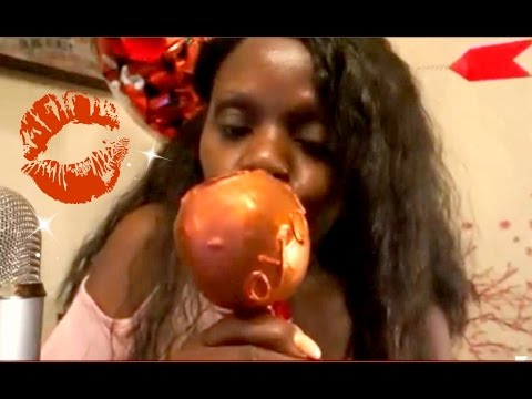 CANDY Apple ASMR Eating Sounds/Intense