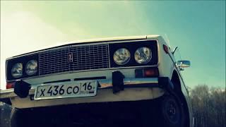 Весенний выезд  после простоя !    ВАЗ -2106 ЖИГУЛИ.music video .