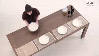 Mesa para Comedor   Mesa mod U Baixmoduls