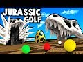 JURASSIC Golf PARK! WINNING The NEW Dinosaur Golf Course! (Golf With Your Friends Gameplay)
