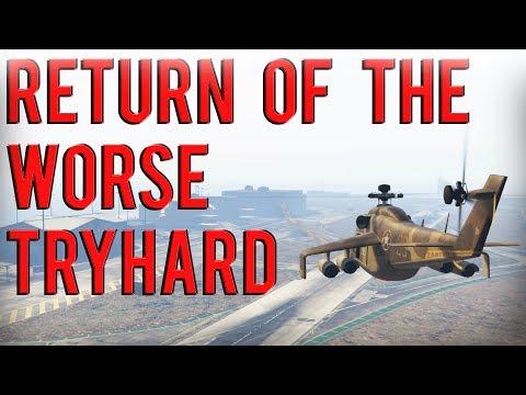 Return Of The Worse Tryhard | Gta 5 Online