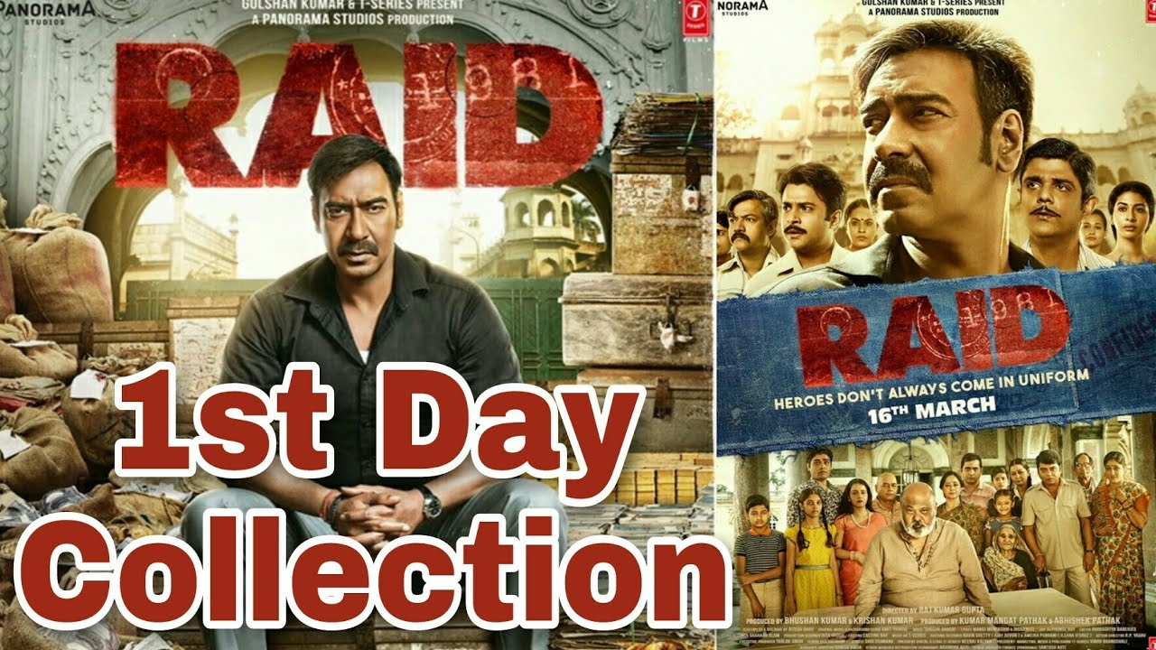raid first day collection