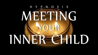 Hypnosis for Meeting Your Inner Child Self [Twin Flames Meditation] (Voice Only ASMR)