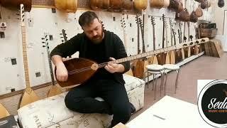 Acem kızı Ali Tatlıbal  seda müzik center yeni seri 45 tekne oyma dut sazimizin tanitimi!!
