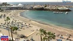 LIVE WEBCAM from Playa La Pinta Puerto Colón Adeje Tenerife