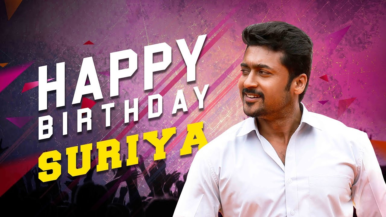 Happy Birthday Suriya Fog Tamil