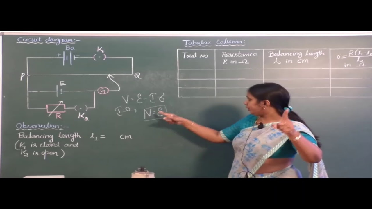 II PUC   Physics practical   Internal resistance of a cell   Practical-03