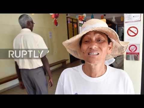 France: Voters in French Guiana cast their ballots in presidential elections