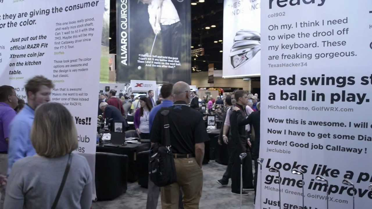 Tour of the Callaway booth at the 2013 PGA Show