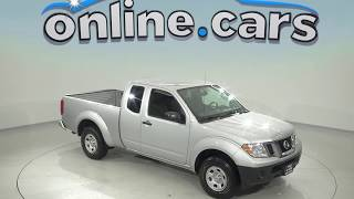 G97766NC Used 2017 Nissan Frontier SV RWD Long Bed Silver Test Drive, Review, For Sale