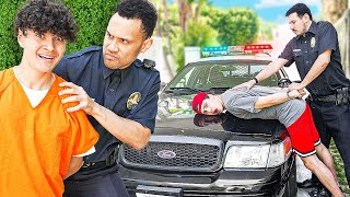 Last to Get ARRESTED Wins $10,000 (Hide & Seek vs Police)
