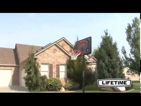 Lifetime 90040 Portable Basketball Goal Demonstration