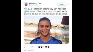 Radio Marca Vigo 87.5 FM - Nediam Vargas  Atletismo Femenino Celta