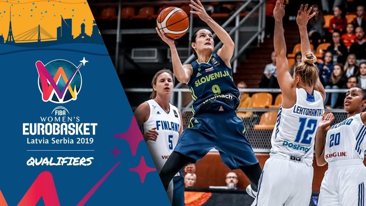 Finland v Slovenia boxscore - FIBA Women's EuroBasket 2019