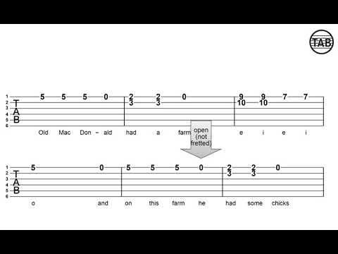 76 Old Mcdonald Chord Shape Exercise 1 Youtube