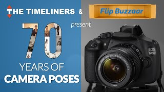 70 years of camera poses   the timeliners