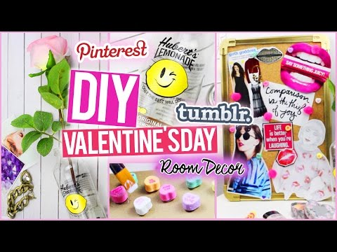 DIY Valentines Day Room Decorations ♥ Tumblr & Pinterest Inspired!