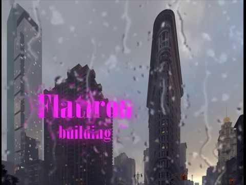 Flatiron building. New York. Full CGI.